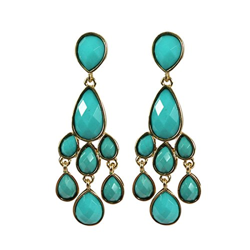 Wrapables Vintage Chandelier Statement Earrings