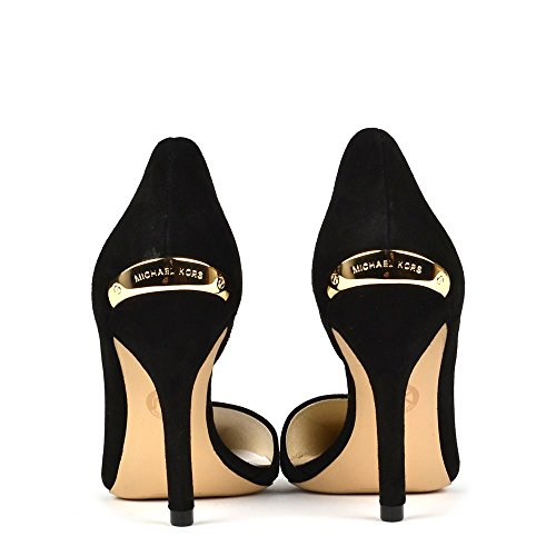 1a8591447a7b MICHAEL Michael Kors Julieta Black Suede Pump 40.5EU 7.5Uk Black   Amazon.co.uk  Shoes   Bags