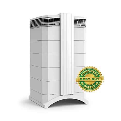 - IQAir [HealthPro Plus Air Purifier] Medical-Grade Air [HyperHEPA Filter] - Allergies, Pets, Asthma, Odors, Smoke, Pollen, Dust; Swiss Made