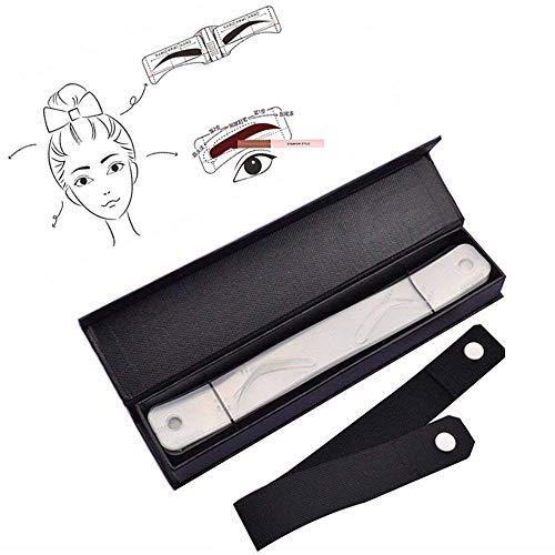 Pinkiou Eyebrow Tattoo Stencil Eyebrow Shaping Template Eyebrow Shaper Eyebrow Design Belt Eyeliner Stencil (Best Eyebrow Stencils Reviews)