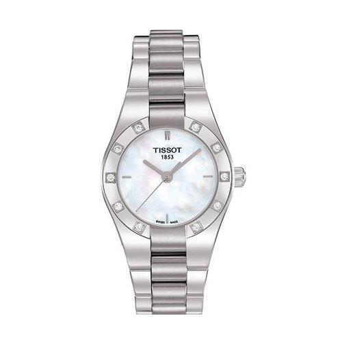 Tissot GlamSport T0430106111100 - Reloj de mujer de cuarzo, correa de acero inoxidable