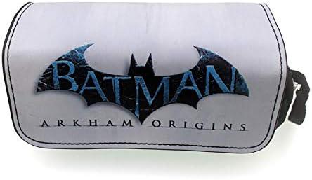 Estuche De Lapices Gran Capacidad Caja De Lápices Bolsa De Lona Bolsa De Lápiz Senior Organizador Eco Amigable Patrón Floral Para Niños Vengadores Batman Superman, A: Amazon.es: Oficina y papelería