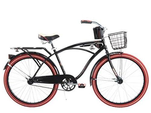 "26"" Huffy Nel Lusso Men's Cruiser Bike, PIANO BLACK hot n..."