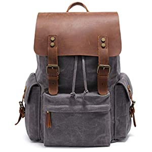 Leather Backpack [object object] Home 416RB5VXhHL