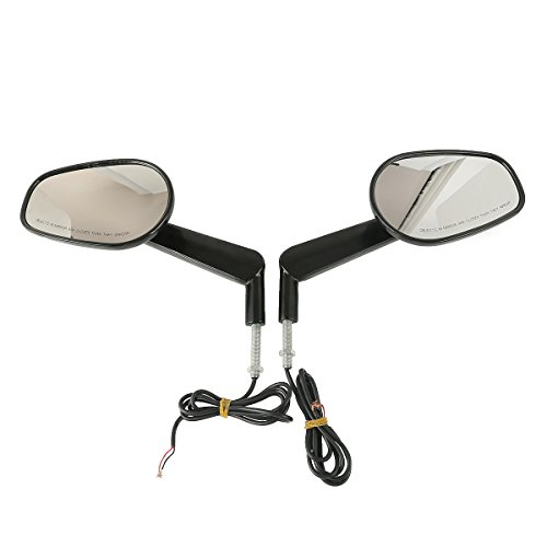 XMT-MOTO Muscle Rear View Mirrors LED Turn Signals for sale  Delivered anywhere in USA