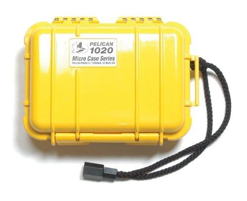 Pelican 1020 Micro-Case (Yellow)