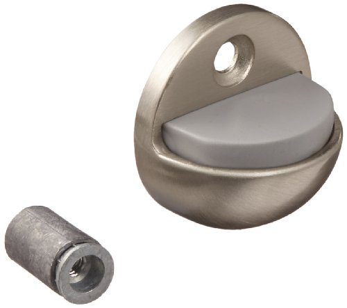 Rockwood 440.15 Brass Floor Mount Low Dome Stop, #12 X 1-1/4
