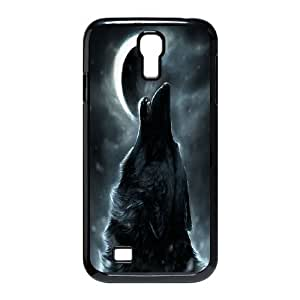 Wolf Totem Art Pictures PC Hard Plastic phone Case Cover For SamSung Galaxy S4 Case ZDI016255