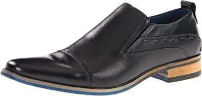 Steve Madden Men's Caddee Loafer,Black,7 M US