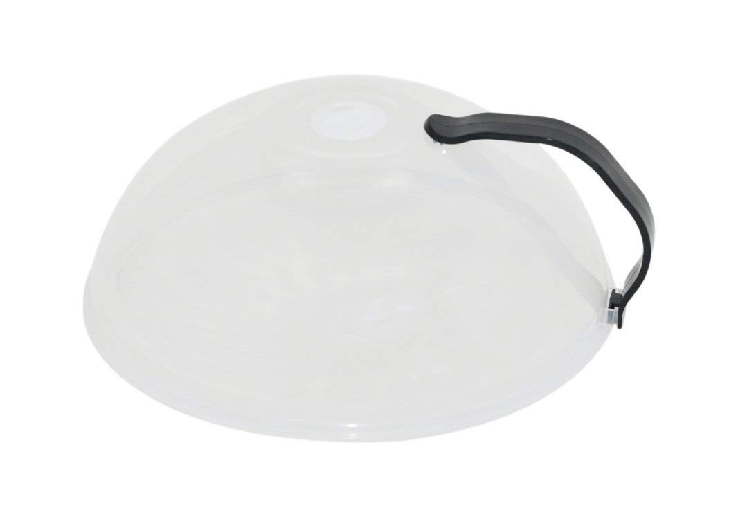 Set of 2, Domed Vented Microwave Cover with Handle - by Home-X