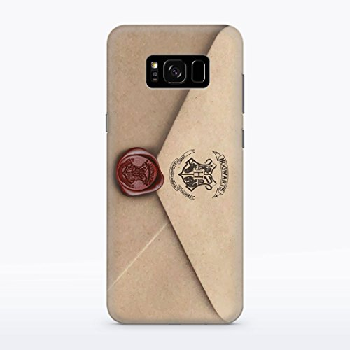 Letter of Acceptance Samsung Galaxy S8 Hard Plastic Case Hedwig Owl Hogwarts Letter Harry Potter Durable Potective Shell Cover for Samsung Galaxy S8 Fandom Gryffindor Witchcraft School MA1321