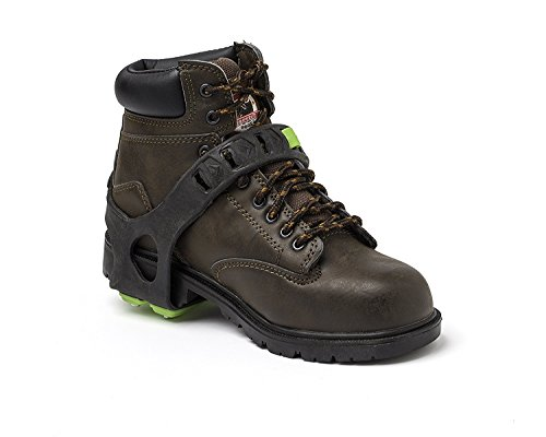STABILicers STABIL HEEL Traction Ice Heel Cleat with Steel Cleats and Tread for Snow, Ice, Attaches over Shoes and Boots for Safety in Outdoor Winter Weather and Slippery Terrain, OS by STABILicers (Image #2)