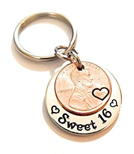 Lucky Copper Penny Key Chain