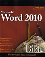 Word 2010 Bible Front Cover