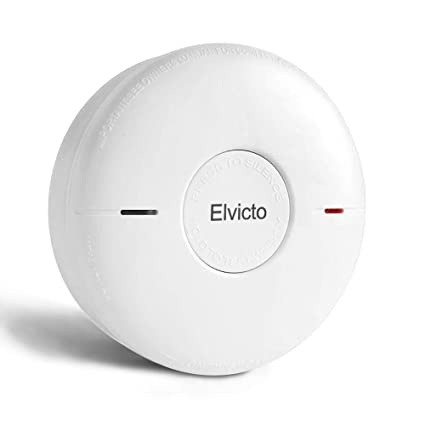 Elvicto Combination Photoelectric Smoke & Carbon Monoxide Detector 10 Year Battery Operated, Travel Portable Fire and Co Alarm for Home, Kitchen - - Amazon. ...