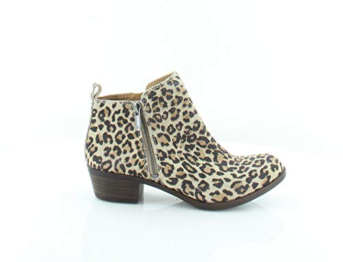 (Lucky Brand Women's Basel Leopard Print Booties Size 5M)