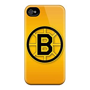 Shock Absorption Hard Phone Cases For Iphone 6 (PZW4716IsAo) Support Personal Customs Stylish Boston Bruins Pattern
