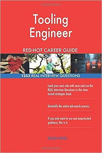 Tooling Engineer RED-HOT Career Guide