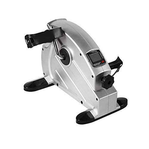 KONGDI Pedal Exerciser Portable Medical Exercise Peddler - Low Impact, Under Your Office Desk - Designed Either Hands Feet