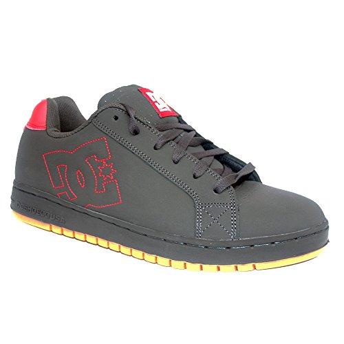 DC Shoes DC SHOES Court Intl Charcoal Gum - Zapatillas de piel de cerdo para hombre Charcoal Gum