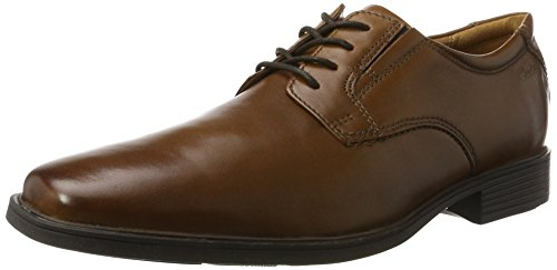 sale low shipping fee discount store CLARKS Men's Tilden Plain(New Color) Oxford Dark Tan UxesZ