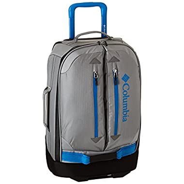 Columbia Pack and Go 21 Inch Rolling Upright, Grey/Compass Blue, One Size