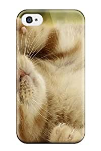 CoptUBR13530ZUbAN AmyAMorales Awesome Case Cover Compatible With Iphone 4/4s - Cat And Dog