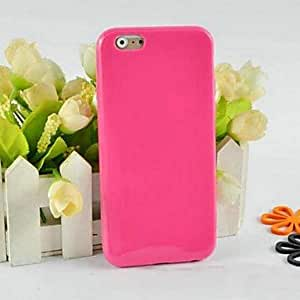 JOE Soild Color TPU Soft Case for iPhone 6 (Assorted Colors) , Rose