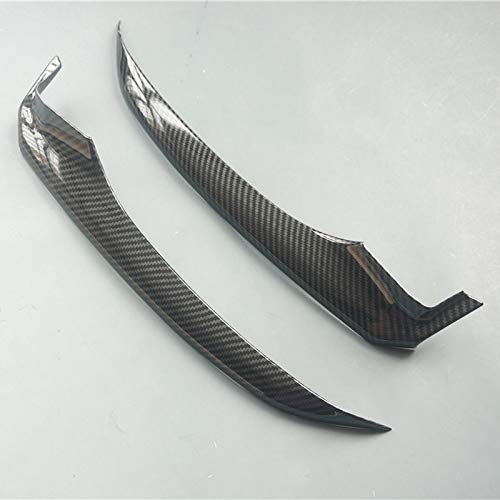 Sport Style Front Bumper Lip Moudling Cover Trim for Toyota Camry 2018 (SE XSE-Carbon Fiber ()