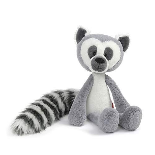 GUND Toothpick Casey Lemur Plush Stuffed Animal, Black and White, 15