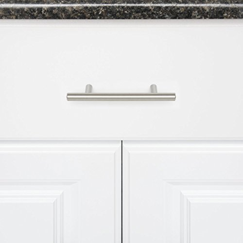Buy cabinet pulls brushed nickel 3.5 inch