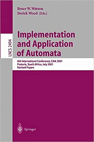 Implementation and Application of Automata: 6th