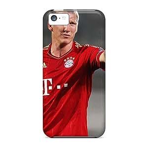 New Arrival ZatqlaF7855hNbPv Premium Iphone 5c Case(bayern Bastian Schweinsteiger Is Not Worried)