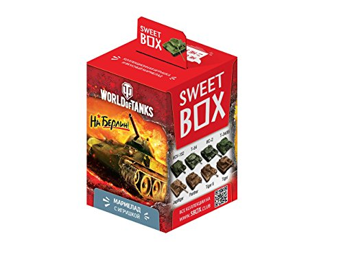 World of Tanks to Berlin SWEETBOX GUMMIES WITH 3D toy in inside