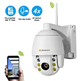 Two-Way Audio Wireless PTZ Security Camera,Jennov Home
