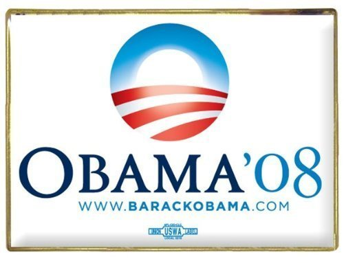Official Barack Obama 2008 Campaign Lapel Pin