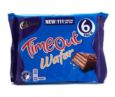 Cadbury Timeout Single Bar - (36 Bar x 21.2g)