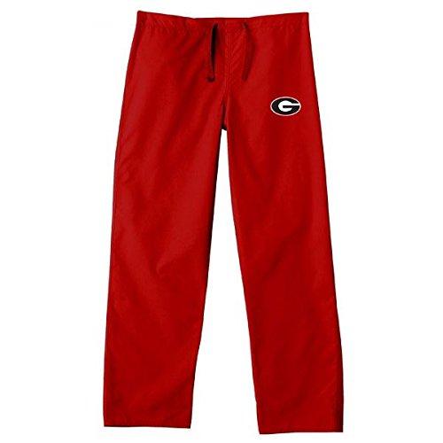 - Georgia Bulldogs Red Scrubs Pants:3XL-48-50