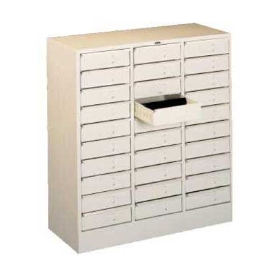 30 Drawer Organizer Filing Cabinet Color: Black ()