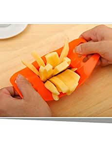 JIAO-Potato Bar Cutting Machine French Fries Tool Stainless Steel Vegetable Potato Slicer Cutter Chopper Chips Making Tool