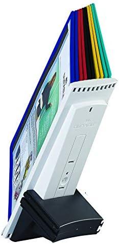 [해외]DURABLE SHERPA 10-Panel Desk Reference System Extension Set Assorted Color Borders (569800) / DURABLE SHERPA 10-Panel Desk Reference System Extension Set, Assorted Color Borders (569800)