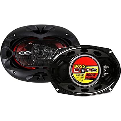 "Bocinas Para Carro Boss Audio CH6930 6"" X 9"" 3-Way Chaos Speakers"
