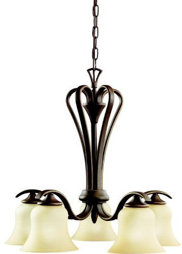 Kichler 2084OZ Wedgeport Chandelier 5-Light, Olde Bronze
