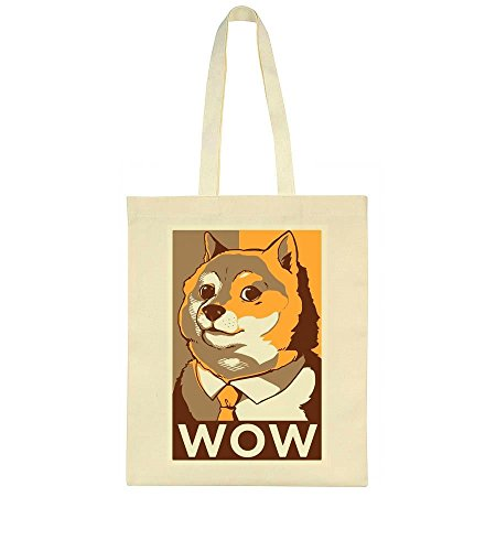 Doge Style Hope WOW Poster Bag Tote rOrFqfS