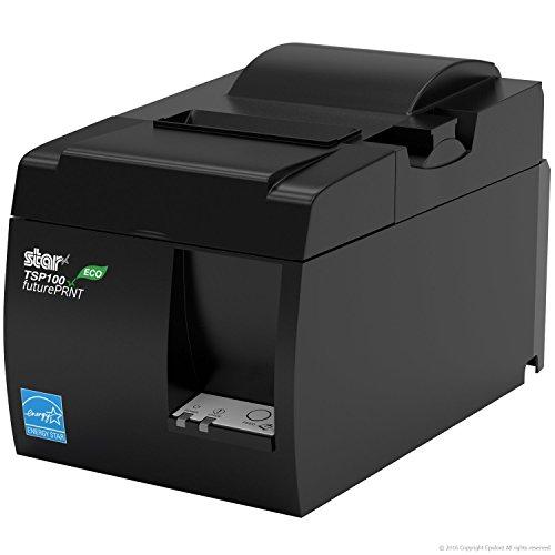 SQUARE POS HARDWARE BUNDLE - Star Micronics TSP143IIU 39464011 USB Printer and Epsilont Cash Drawer 16'' by 16'' 5 Bill 8 Coin by Epsilont (Image #5)
