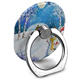 Interesting-custom Cell Phone Holder Christmas Family Snowman Tree Snow Reindeer Moon Universal Mobile Phone Stand for Google Nexus LG Huawei and More Lazy Bracket