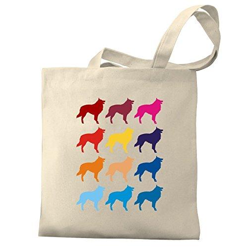 Eddany Colorful Belgian Shepherd Dog Bereich für Taschen