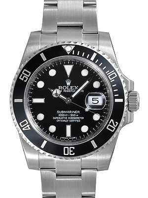 Rolex Submariner Black Gold Silver