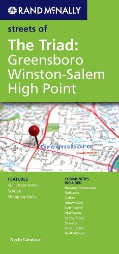 Rand McNally Folded Map: Greensboro, Winston-Salem (Rand Mcnally Streets of)