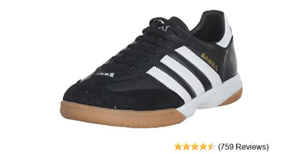 a2a49b5c3 Amazon.com | adidas Performance Men's Samba Millennium Indoor Soccer Shoe |  Athletic